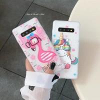 Asus Zenfone 5 6 5z Lite Max Pro M1 M2 Plus FLAMINGO UNICORN CASE