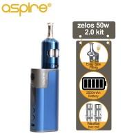 TERCANGGIH Electronic Cigarette Aspire Zelos 2.0 Vaper Starter Kit E