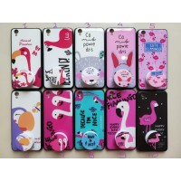 Case Hp Karakter Mouse,Flamingo,Bear & popsocket