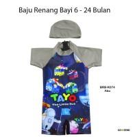 Baju Renang Bayi Karakter Tayo - BRB-K074