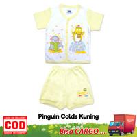 Tokusen Setelan Baju Bayi Lengan Pendek / Baju Bayi 3 Bulan Pendek - UK M, PGN-COLD-KNG