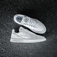 Sepatu Casual Adidas Supercourt Clean White ORIGINAL BNWB DISKON SALE