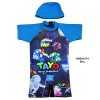 Baju Renang Diving Anak Karakter Tayo BRB-074
