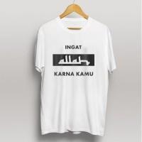 Kaos baju muslim t-shirt dagelan muslim