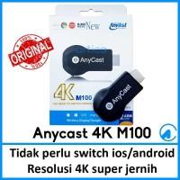 Anycast M100 4K HD Wifi Display TV Dongle Wireless HDMI Dongle