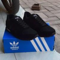 sepatu sekolah Adidas Neo city racer full Hitam sepatu hitam polos