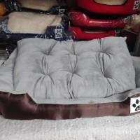 Tempat tidur anjing kucing pet bed 80x60 kasur ranjang bantal kucing