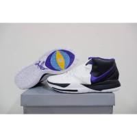 Sepatu Basket 🔥 Nike Kyrie 6 HIGH Black White Purple