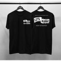Kaos Distro Pria Islamic Lets Hijrah DB Atasan Pria T-shirt Pria