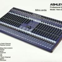 Mixer Ashley Hero 24 Channel Original Multi Effect 199dsp hero24