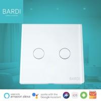 Bardi Smart WiFi Touch Wallswitch - EU 2 Gang