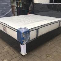 KASUR SPRING BED FULL SET UK 180X200 (KASUR PILLOW TOP)FREE ONGKIR