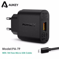 AUKEY PA-T9 QUICK CHARGE 3.0 USB SINGLE PORT WALL CHARGER