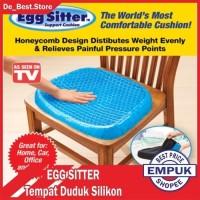 ORI Bantal Alas Duduk Empuk Egg Sitter Posture Silikon Cushion Cover