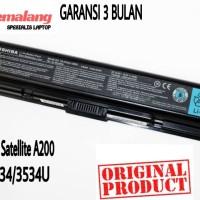 Batetai Batre Laptop Original Toshiba Satelite A200 A205 M200 PA3534