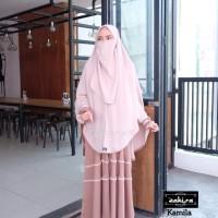 gamis syar'i/baju gamis wanita/hijab syar'i/gamis terbaru/kamila