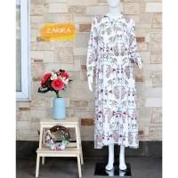 gamis/baju gamis wanita terbaru/gamis syar'i/gamis terbaru/Dreshome 1