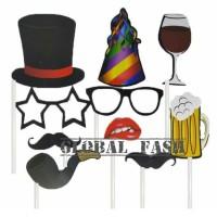 fun props kumis / aksesoris poto boot party / foto booth / photo boot