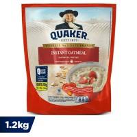 Quaker Oat Instant Oatmeal Merah ( 1.2kg )