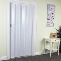 folding gare pvc murah pintu partisi ruangan Pintu Lipat PVC / Folding