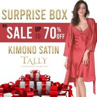 TALLY Surprise Box Kimono Satin lingerie