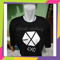 T-shirt/baju kaos pria kaos K-POP EXO