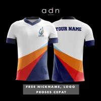 Kaos gaming full custom bebas nickname logo jersey gaming