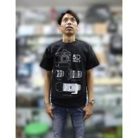 Kaos / Baju / Tshirt Kamera DSLR Fotografi - Canon 5D Mark II Lensa