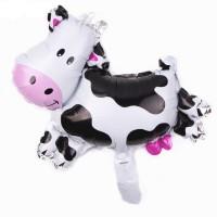 Balon sapi / balon foil karakter animal cow balon binatang domba sheep