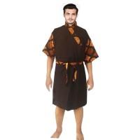 Kimono Batik Pria | Piyama | Baju Tidur | Baju Spa - Gunawan - No 3