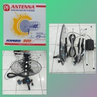 Antene Antena TV+Remote+Kabel 10m+Jek PF Jumbo 900 HDTV Jernih OK