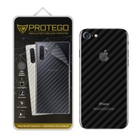 Back Protector iPhone 7 / iPhone 8 Protego - Carbon Clear