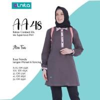 Atasan Wanita kaos combed + Alnita AN-AA48 + Tunik Original Brand