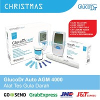 GlucoDr Auto AGM 4000 + 25 Strip Alat Cek Gula Darah Gluco Dr