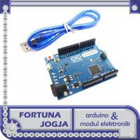 Arduino Leonardo R3 Compatible Atmel MEGA32U4 dengan Kabel Micro USB