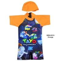 Baju Renang Bayi Karakter Tayo BRB-K074