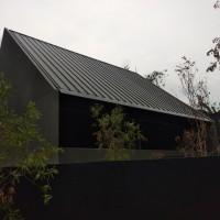Atap Spandek warna hitam