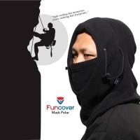 Masker Polar 6 in 1 Buff Scarf Balaclava Multifungsi Ninja Full Face