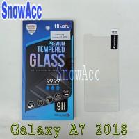 Hikaru Anti Gores Tempered Glass Samsung Galaxy A7 2018 AntiGores Kaca