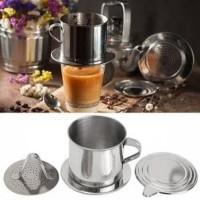 Gelas Filter Saringan Kopi Vietnam Coffee Drip Dripper 100ml 8Q LC1