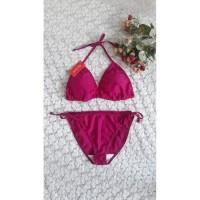 Bikini set bra tali ikat baju renang pantai swimwear seksi wanita B301