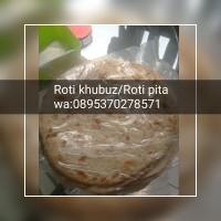 Roti Khubz/Khobus/Pita Bread/Flat Bread/Roti Arab - isi 5 pcs