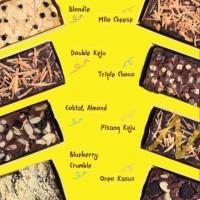 BROWNIES PANGGANG INIBRONIS   Sakha Cake & Cookies