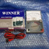 Avometer manual Winner YX 360Trn/Multitester Winner/Avometer analog