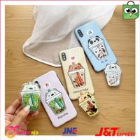 WBB BOBBA PHONE GRIP - Popsocket Isi Air We Bare Bears Grizzly Panda
