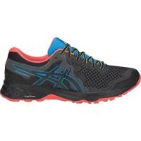 [Original] Sepatu Trail Running ASICS GEL-SONOMA 4 Black/Island Blue
