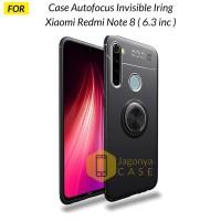 Case Xiaomi Redmi Note 8 Autofocus Invisible Iring Soft Case