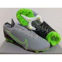 Sepatu Bola - Soccer Nike Mercurial 13 Elite Grey Green Black - FG