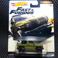 Hot Wheels 91 Mercedes Benz G Class Fast and Furious Off Road