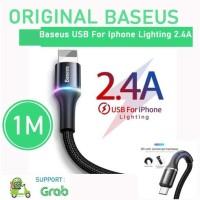 KABEL FAST CHARGER BASEUS USB IPHONE LIGHTNING CABLE ORIGINAL APPLE